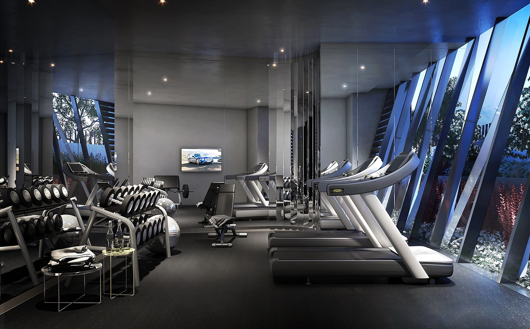Gym Room Layouts